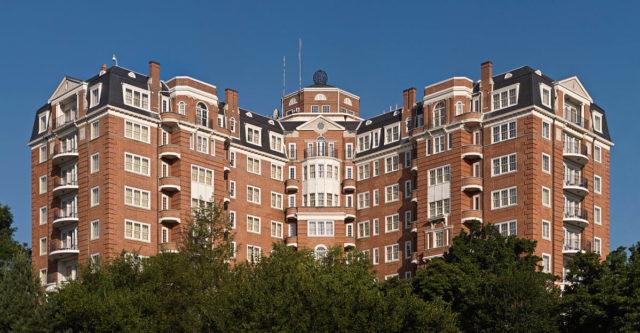Wardman Tower Washington DC Lumiflon FEVE Resin Tnemec Fluoronar