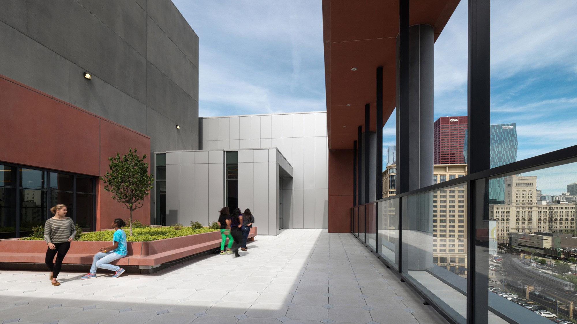 William Jones College Preparatory High School, Chicago, Perkins Will, James Steinkamp, Steinkamp Photography