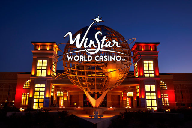 Winstar Casino Thackerville Oklahoma Stromberg Architectural IFS Coatings IFS 500FP Lumiflon FEVE Resin