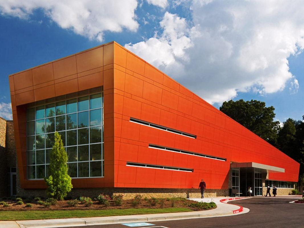 Wolf Creek Library Atlanta Valspar Valflon FEVE Alpolic ACM Leo A Daly