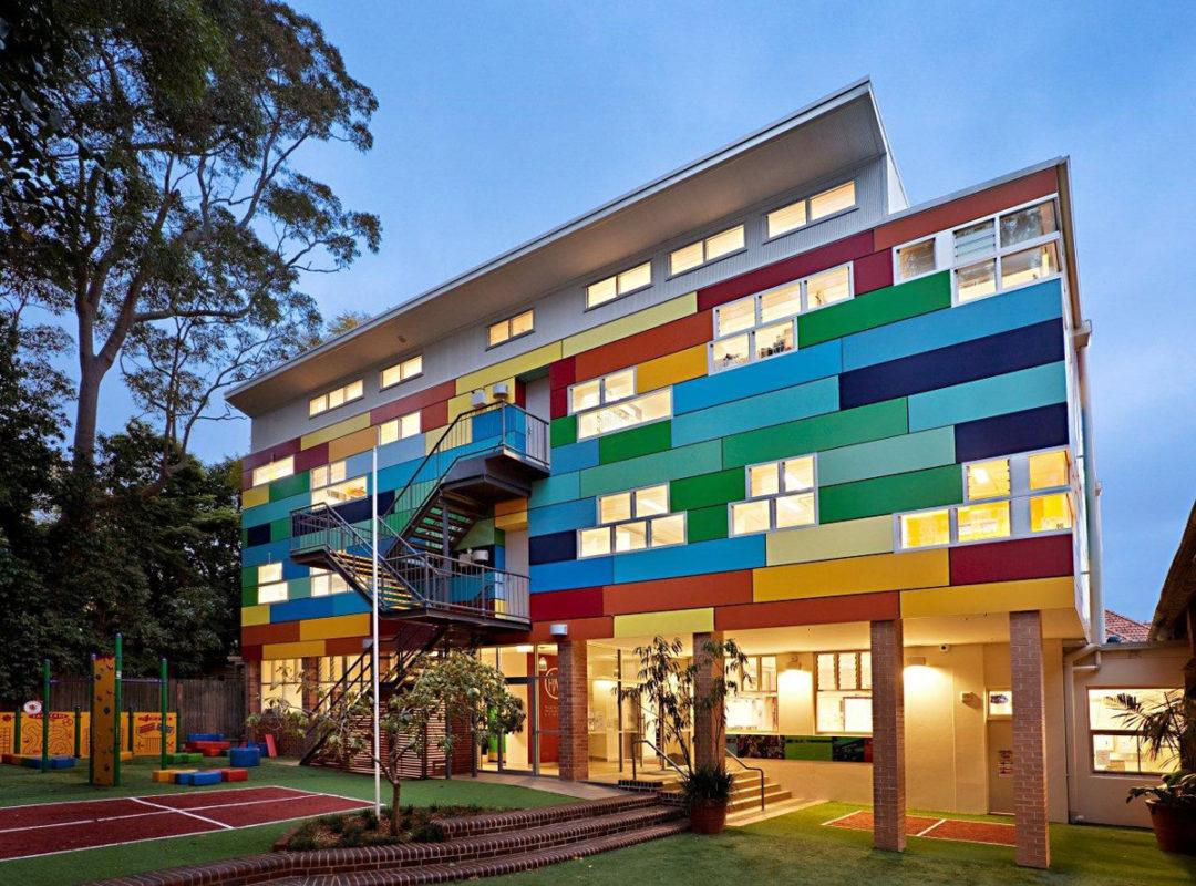 wahroonga preparatory school nsw australia ggf architects fairview ceremapanel fiber cement ai coatings vitreflon lumiflon feve
